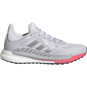 adidas Solar Glide 3 Shoes Women, dash grey/silver metal/signal pink